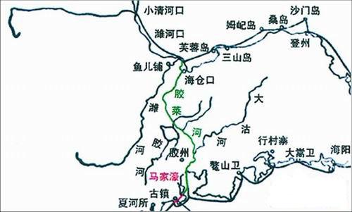 胶莱河古称胶莱运河,是山东半岛的一条重要河流